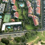 Kamaole Sands Aerial View - our condo is in Bldg 1