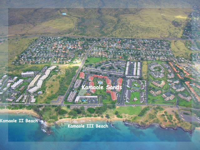 Your Kamaole Beaches II and III along with Kam Sands resort