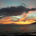 Kamaole lll Beach Sunset